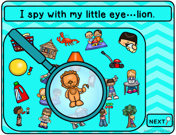 Articulation I Spy - L Edition (NO PRINT INTERACTIVE)