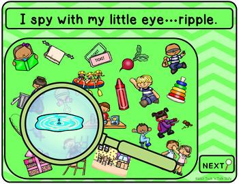 Articulation I Spy - Prevocalic R Edition (NO PRINT INTERACTIVE)