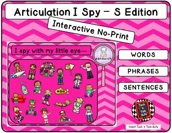 Articulation I Spy - S Edition (NO PRINT INTERACTIVE)
