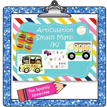 Articulation: Initial, Medial, and Final /K/ Smash Mat Bundle