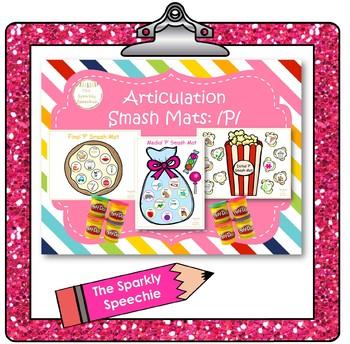 Articulation: Initial, Medial, and Final /P/ Smash Mat Bundle