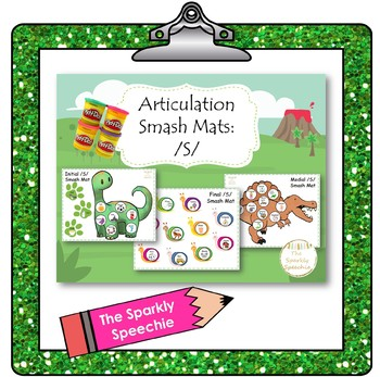 Articulation: Initial, Medial, and Final /S/ Smash Mat Bundle