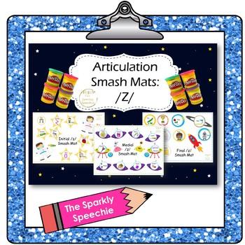 Articulation: Initial, Medial, and Final /Z/ Smash Mat Bundle