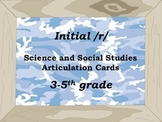 Articulation Initial /r/ with Social Studies and Science Content