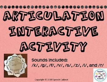 Articulation Homework Activity Set 1