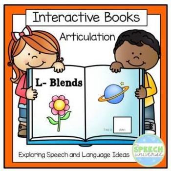 Articulation Interactive Books: L-Blends