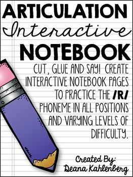 Articulation Interactive Notebook {/R/}
