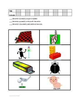 Articulation Interventions & Data Collection for RTI & Speech Therapy - G Sound