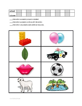 Articulation Interventions & Data Collection for RTI & Speech Therapy - L Sound