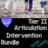 Articulation Interventions for Teachers Bundle: Tier 2