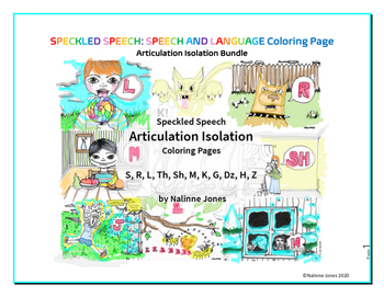 Articulation Isolation - BUNDLE - Coloring Pages