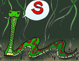 Articulation Isolation - /S/ - Snake Sound - POSTER - Phonology