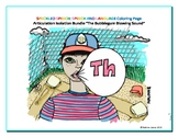"Articulation Isolation - ""TH"" - Blowing Bubble Sound - Coloring Page - Phonology"