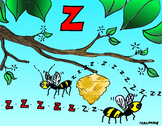 Articulation Isolation - /Z/ - Buzzing Sound - POSTER - Phonology