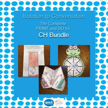 Articulation - Isolation to Conversation - CH Bundle