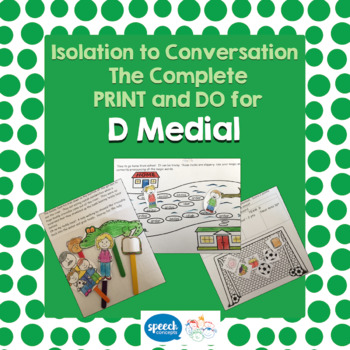 Articulation - Isolation to Conversation - D Medial