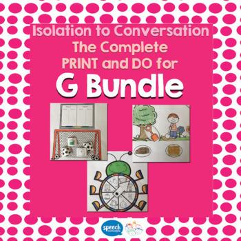 Articulation - Isolation to Conversation - G Bundle