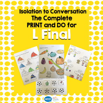 Articulation - Isolation to Conversation - L Final