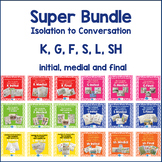 Articulation Isolation to Conversation - MEGA Bundle - K,G