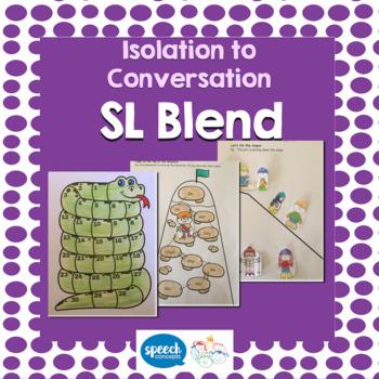Articulation - Isolation to Conversation - S Blend - SL