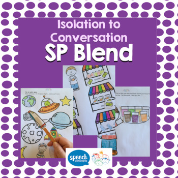 Articulation - Isolation to Conversation - S Blend - SP