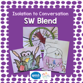 Articulation - Isolation to Conversation - S Blend - SW