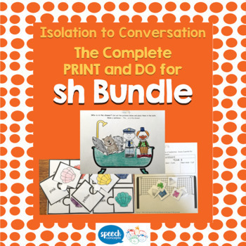 Articulation - Isolation to Conversation - SH Bundle