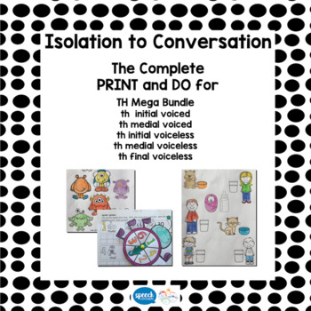 Articulation - Isolation to Conversation - TH Mega Bundle