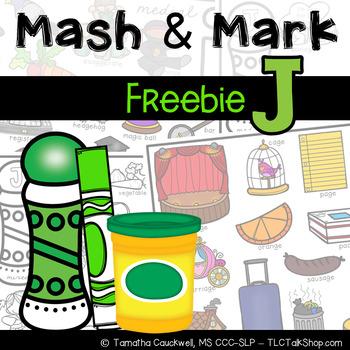J Articulation: Mash & Mark FREEBIE