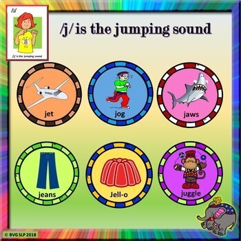 Articulation J and TH in All Positions Jumping Through Hoops - Teletherapy