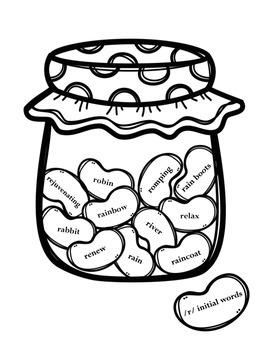 Articulation Jelly Bean Jars {Freebie}