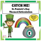 St. Patrick's Day Articulation /K/ Catch-A-Leprechaun Cards