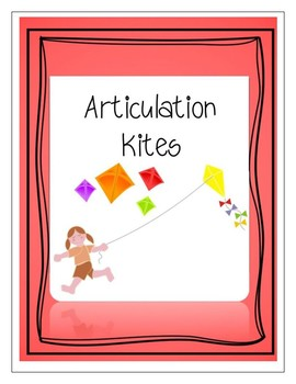 Articulation Kites /s/ - Modifiable
