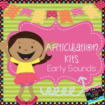 Articulation Kits Early Sounds k,g,f,v