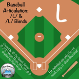 Articulation L and L Blends- Baseball Game
