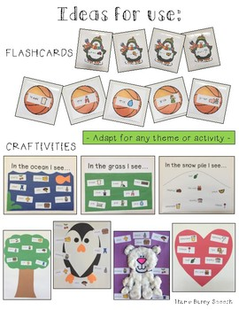 Articulation Labels R Initial Position - for use with craftivities & flashcards