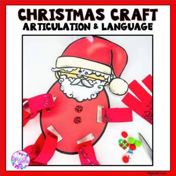 Articulation & Language Christmas Craft
