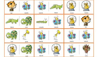 "Articulation & Language Dominoes: Vocalic /r/ - ""er"""