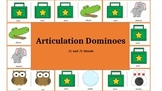 Articulation & Language Dominoes: /l/ and /l/ blend Picture Stimuli
