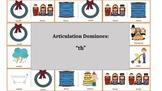 "Articulation & Language Dominoes:""th"" Picture Stimuli"