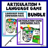 Articulation & Language Game Companion BUNDLE