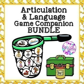 Articulation & Language Game Companion BUNDLE