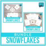 No Prep Articulation & Language Snowflakes Bundle