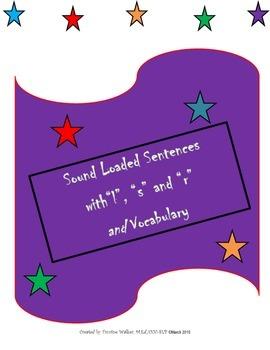 Articulation & Language: Sound Loaded Sentences and Vocabulary