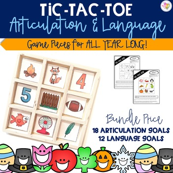 Articulation & Language TicTacToe: Target Game Companion