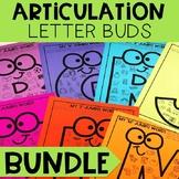 Articulation Letter Buds - BUNDLE