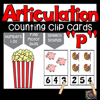 Articulation P Counting Cards