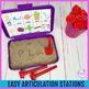 Articulation Letter Stamp Station for L-blends, S-blends, & R-blends