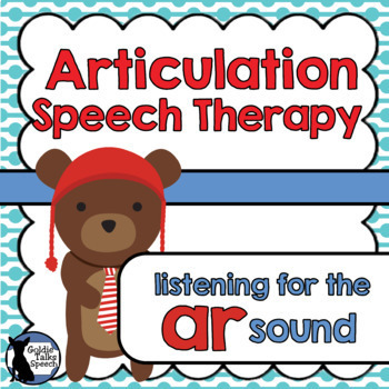 Articulation | Listening for AR sound | Boom Cards | Speech Therapy
