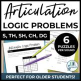 Articulation Logic Problems S, TH, SH, CH | NO-PREP Speech